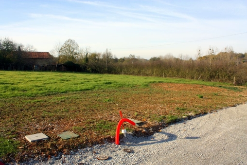 Plot of land France